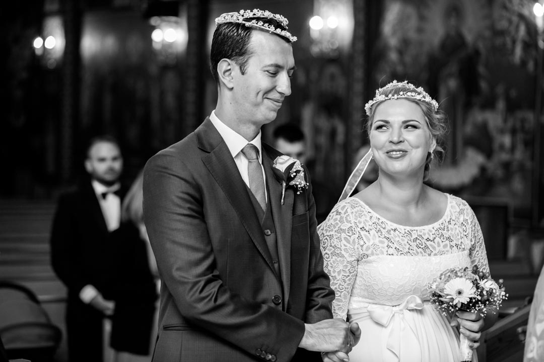 An image of the happy couple - wedding photography by Sam of Hansford Carter, a Kent wedding photographer