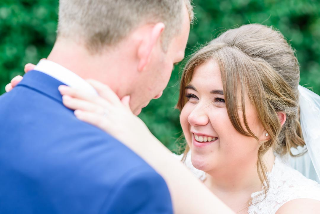 An image of the happy couple - wedding photography by Sam of Hansford Carter, a Kent-based wedding photographer