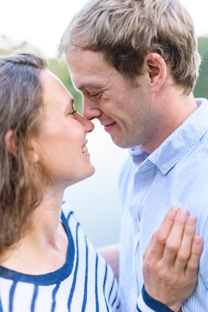 An image of a loving couple - couple shoot by Sam of Hansford Carter, a Kent-based wedding photographer