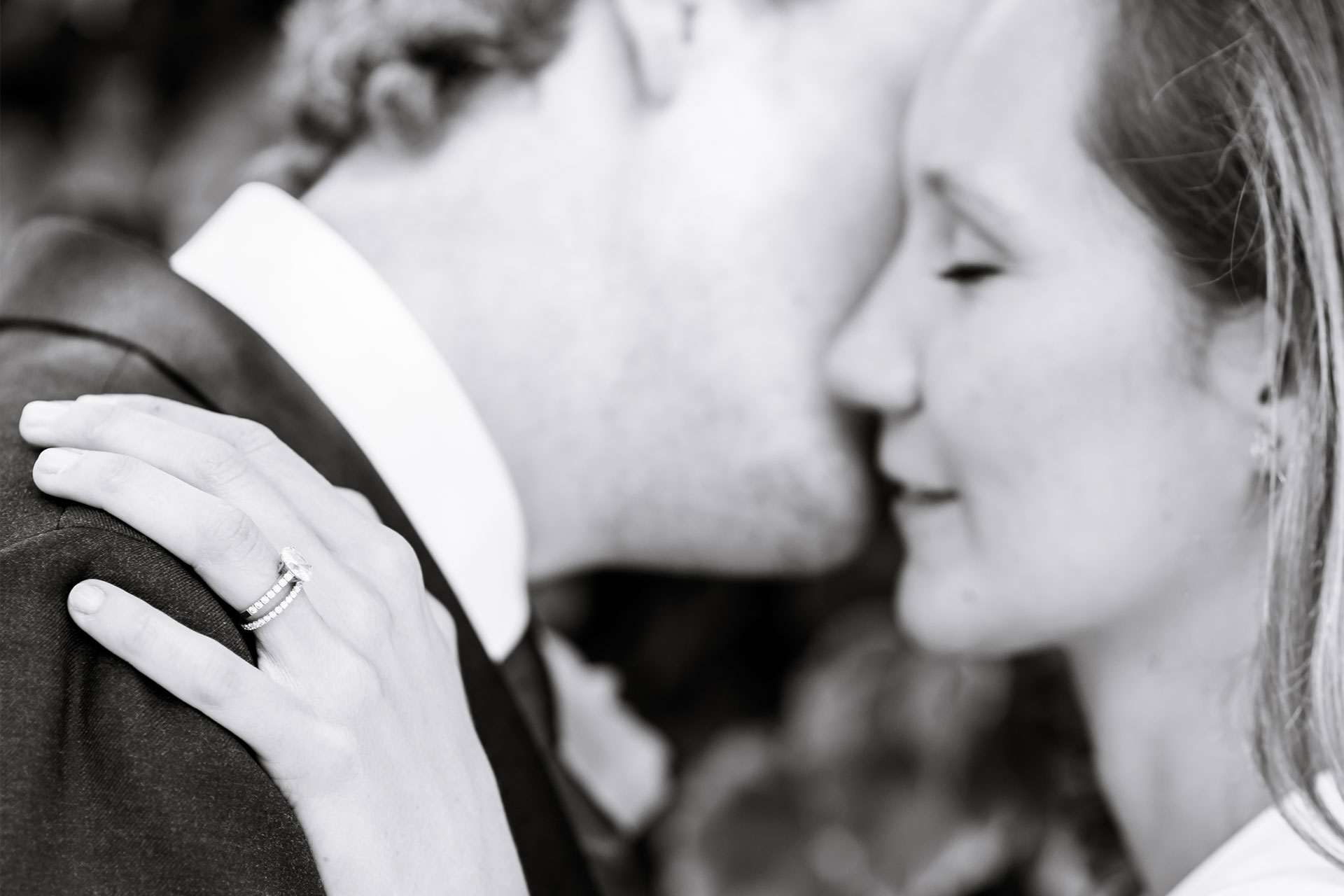 An image of a happy couple in love - couple shoot by Sam of Hansford Carter, a Kent-based wedding photographer